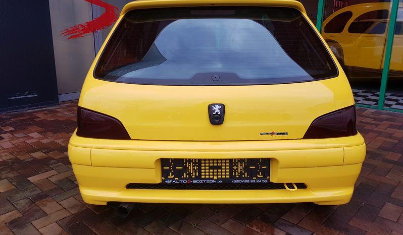 Peugeot 106 16V plein